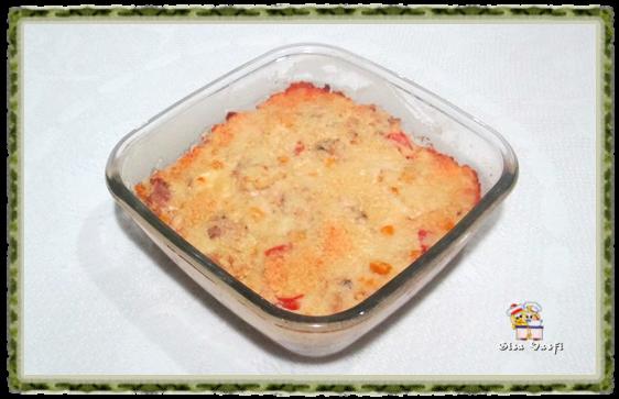 Torta de arroz e frango 5