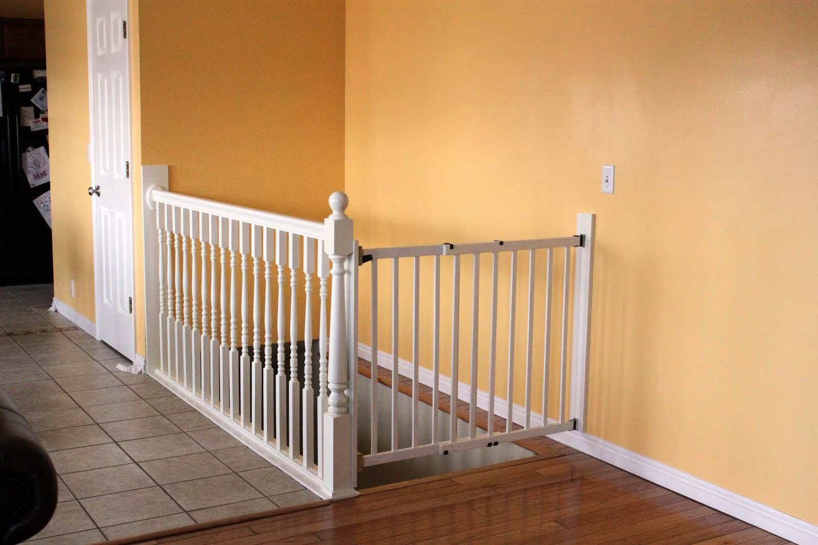 Wall To Banister Baby Gate Myideasbedroom Com