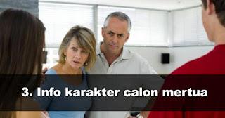 Cari tahu Info karakter calon mertua saat mau bertemu Calon Mertua