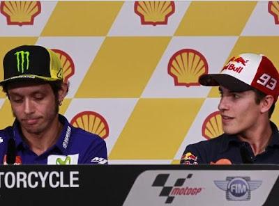 Apa Rossi vs Marquez Sudah Benar-benar Berdamai?