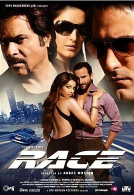 Race (2008) Hindi BRRip 480P 450MB