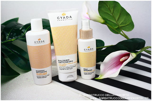 kit anticrespo capelli  gyada cosmetics
