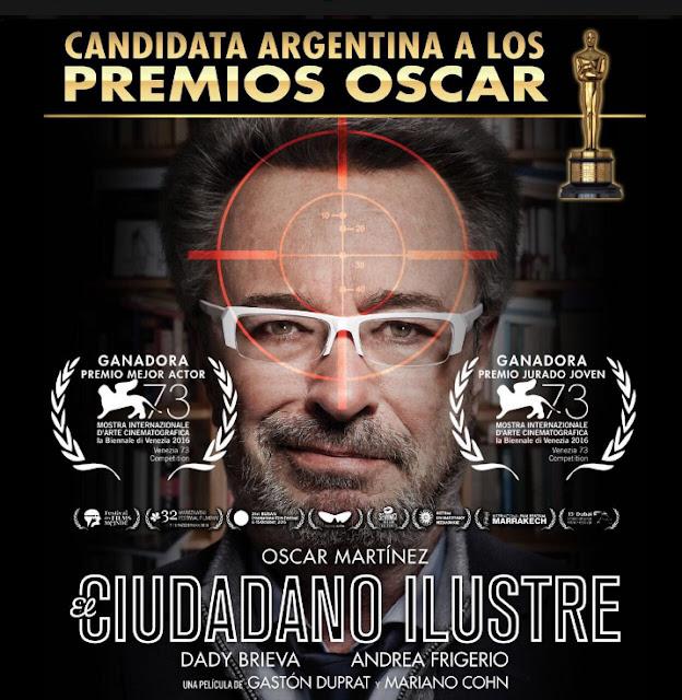 El ciudadano ilustre póster