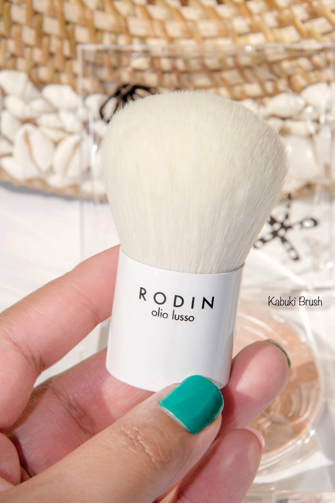 Rodin Olio Lusso Luxury Mermaid Kabuki Brush