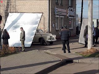 Минск. Расеяне снимали кино