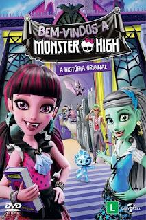 Monster High: Bem Vindo À Monster High – Dublado (2016)