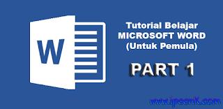 Cara Membuka Microsoft Word 2007 Dengan Mudah