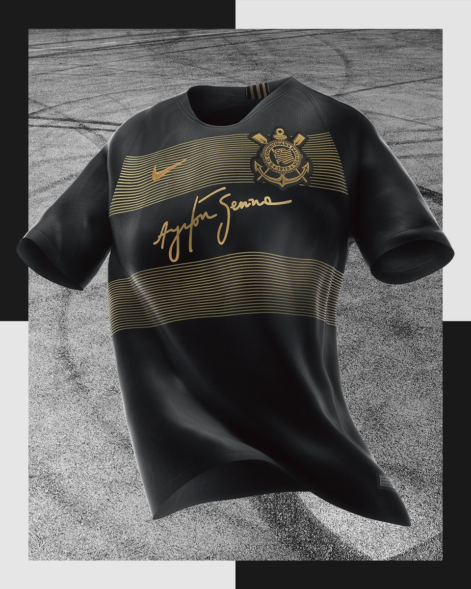 Do you like the new Corinthians 18-19 third jersey to honor Ayrton Senna   Share your thoughts in the comments below. Shop Nike Kits 6313ceee2