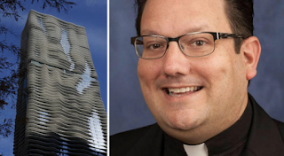 Man who jumped from Aqua building was Ohio priest under investigation