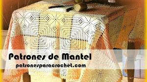 Patrones de Mantel a Crochet / Mantel cuadrado o rectangular