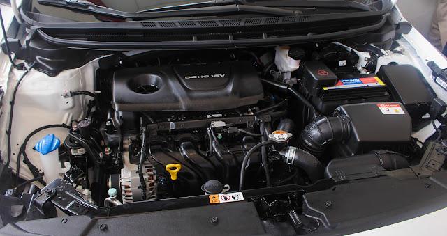 Kia Cerato số sàn sử dụng động cơ Gama 1.6L