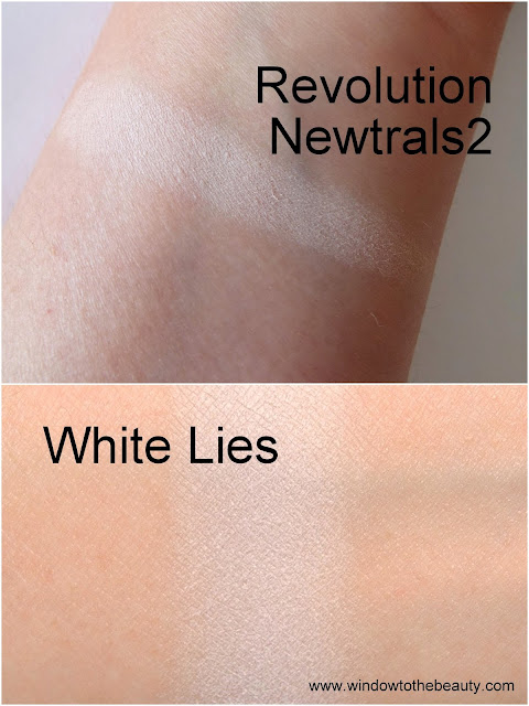 Makeup Geek White Lies dupes
