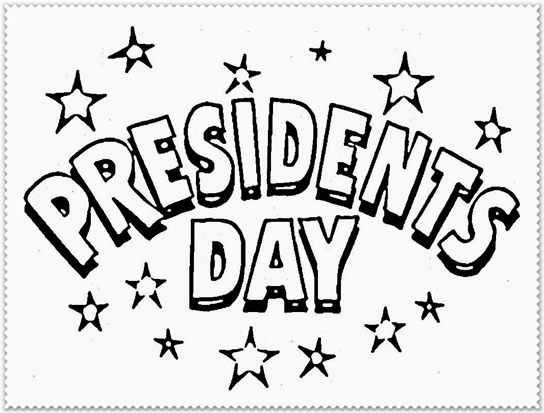 president day coloring pages for kindergarten kids
