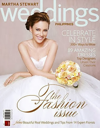 PRESS FEATURE: MARTHA STEWART WEDDINGS PHILIPPINES