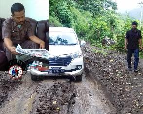 Jalanan Desa Mattirowalie dan Watangcani Butuh Perhatian Khusus Pemerintah