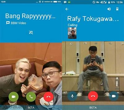 Cara Mencoba Video Call Menggunakan BBM