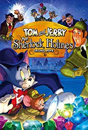 Tom și Jerry îl întâlnesc pe Sherlock Holmes dublat în romana