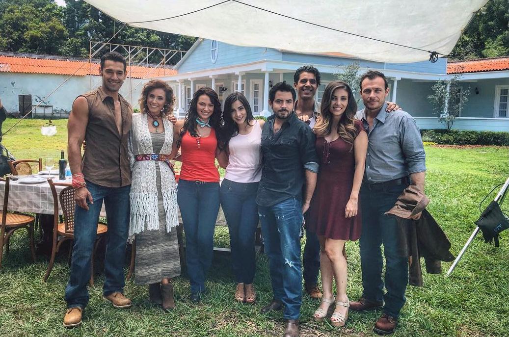 Elenco telenovela Vino el amor - Más Telenovelas