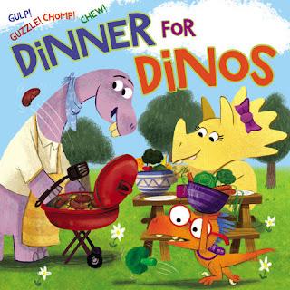 dinner for dinos cover