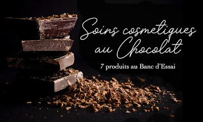 Banc d'Essai 7 produits cosmétiques Bio chocolat