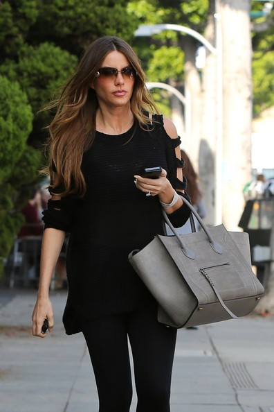 Bagfetishperson Sofia Vergara And Celine Phantom Grey