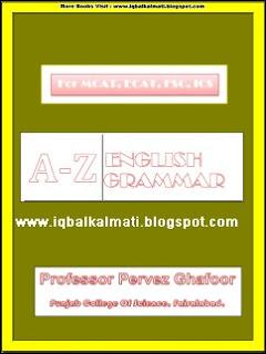 English Grammer Notes by Professor Pervez Ghafoor