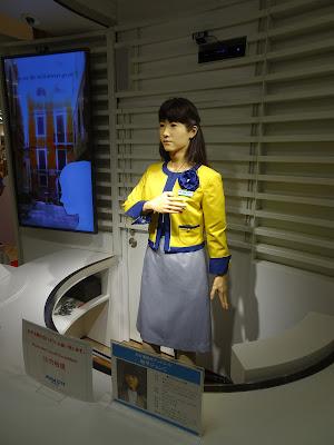 odaiba mall robot