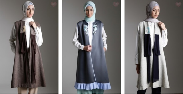 Outer Busana Muslim Rancangan Terbaik Dari Mel Ahyar