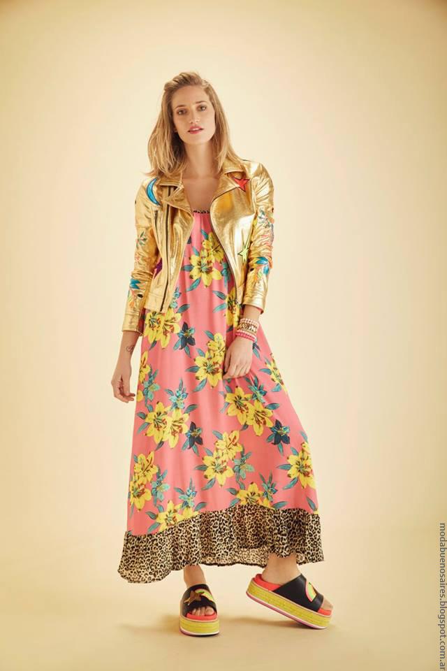 Moda verano 2017 ropa de moda Agustina Saquer.