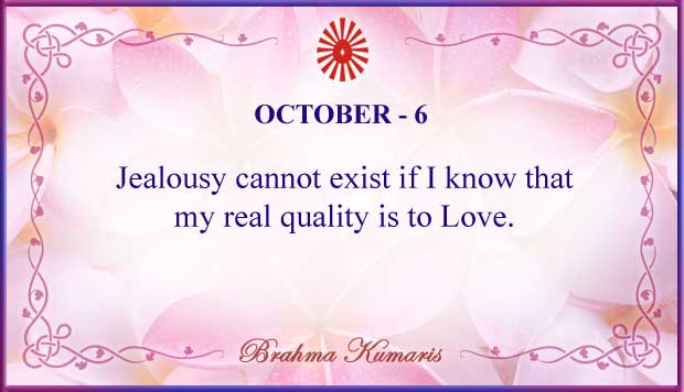 Thought For The Day October 6
