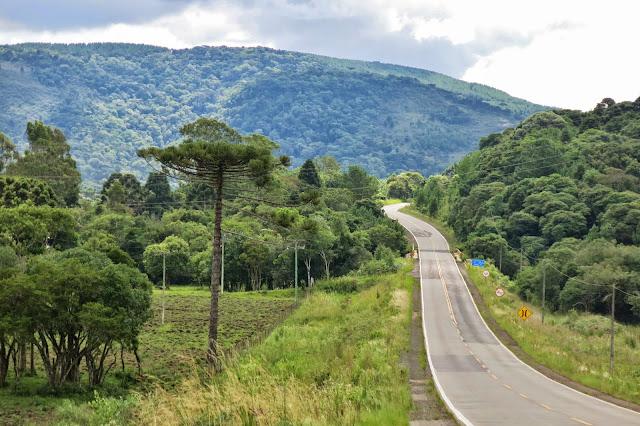 Alguma estrada de Santa Catarina