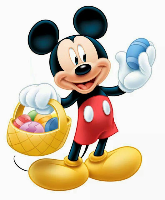 Mickey Mouse en Pascua