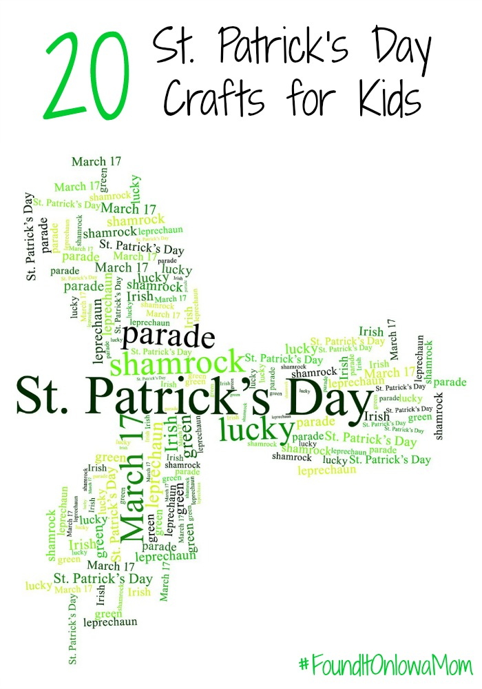 20 St. Patrick's Day Crafts for Kids