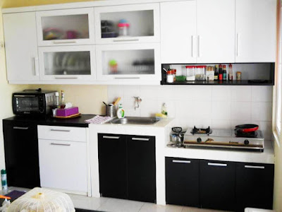 interior kitchen set  dapur sederhana