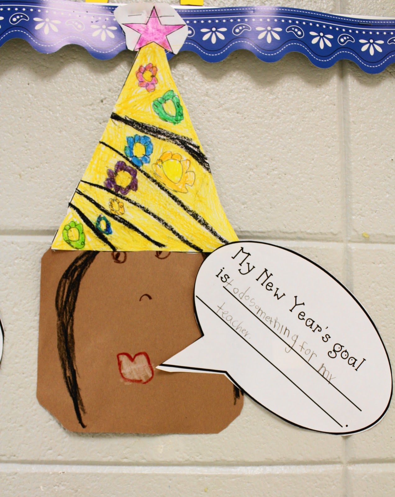 The Kindergarten Corral New Year S Goals Set By Kindergarteners