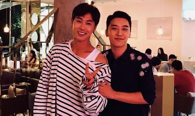 ¡Seungri de Big Bang y Yunho de TVXQ muestran su fuerte amistad!
