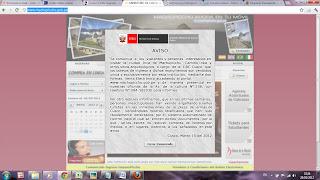 Ingressos para Machu Picchu e Montanhas - 1. Site do Governo Peru