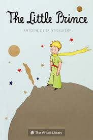 The famous Little Prince  Book in text,  This is children book   but meant  for adults