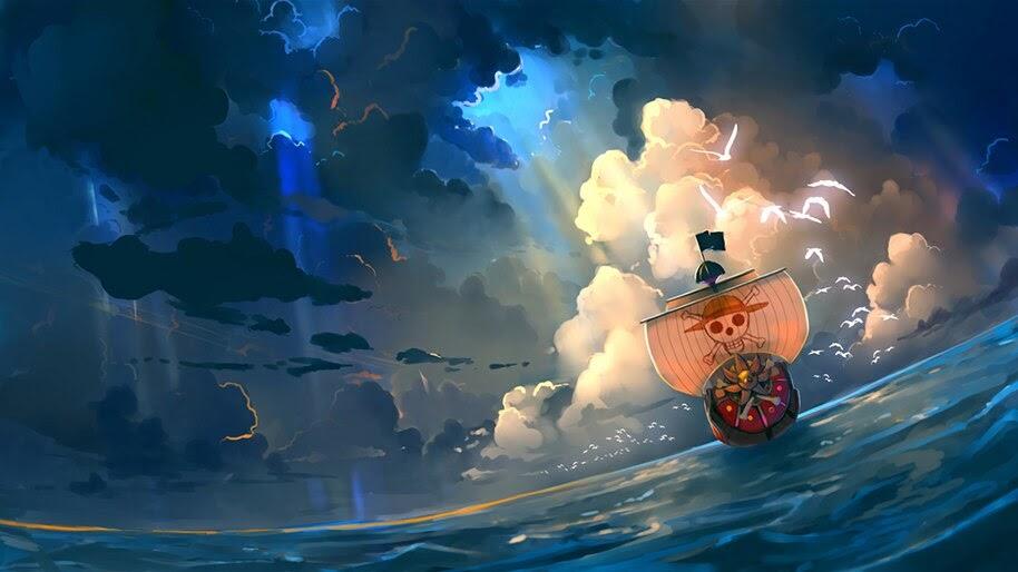 Thousand Sunny, One Piece, 4K, #6.70