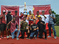 Yonif 407/PK Juara Lomba Lari IT Telkom Purwokerto City Run 3 2019