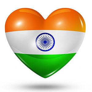 Indian flag heart shape png download 2020