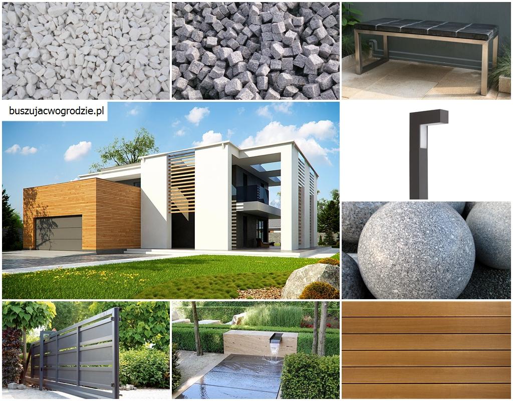 dom w stylu nowoczesnym, pomysł na aranżację przestrzeni