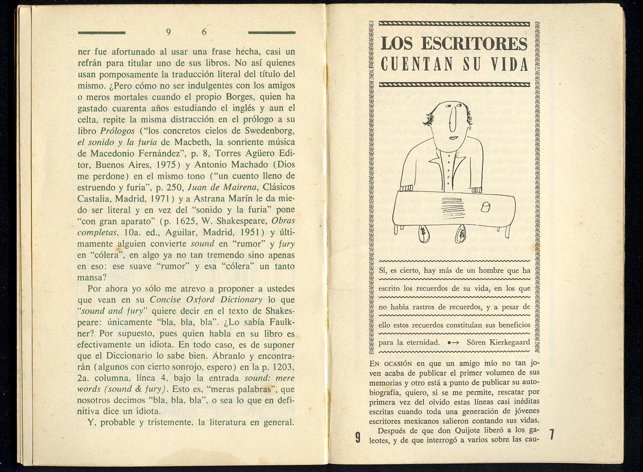 Las mil notas y una nota: Monterroso
