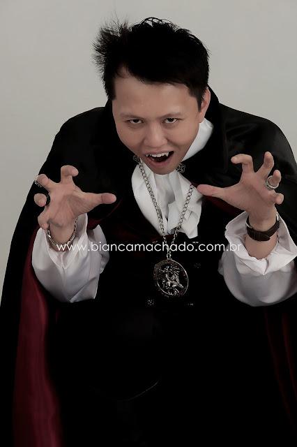 fotos com tema vampiro