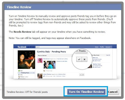 facebook timeline review feature