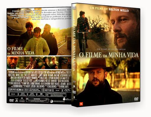 DVD-R O FILME DA MINHA VIDA OFICIAL – AUTORADO