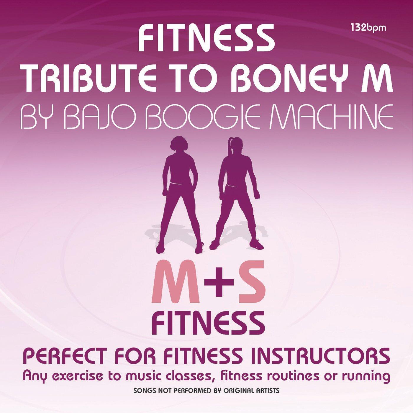 06/09/2017 Fitness Tribute to Boney M. (CD/DVD) BMF1