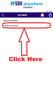 how to generate mmid for sbi account