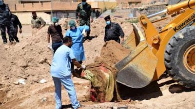 Sadis, Telah Ditemukan 50 Kuburan Massal Didugan Korban ISIS