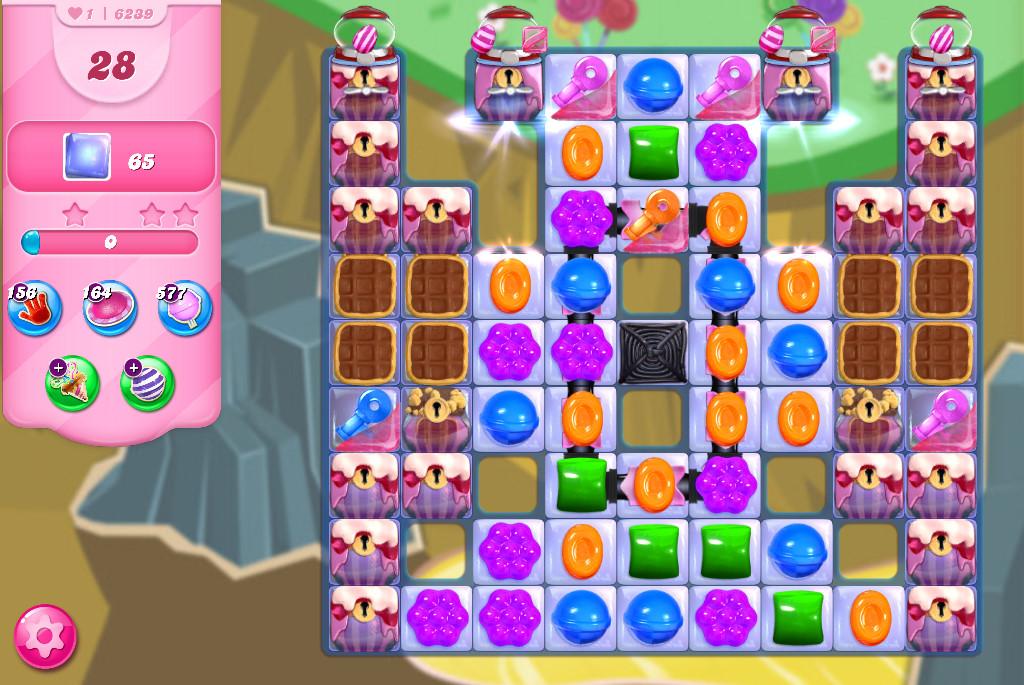 Candy Crush Saga level 6239